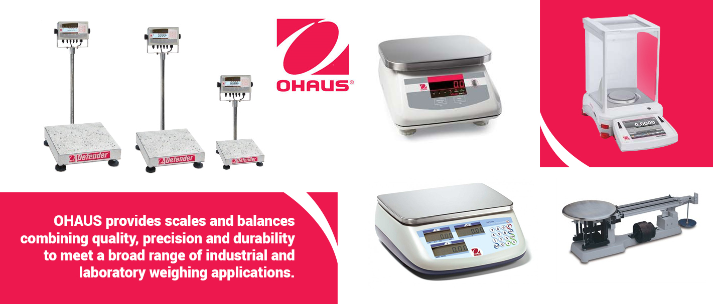 Distributor Ohaus Balance dan Scale Indonesia